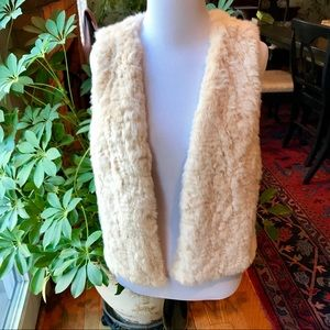 Skies are Blue Faux Fur Vest
